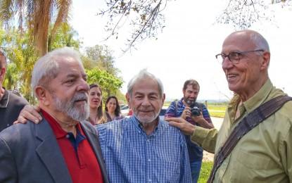 Lula visitou o campus Lagoa do Sino, da UFscar, em Buri, nesta terça 1º de novembro