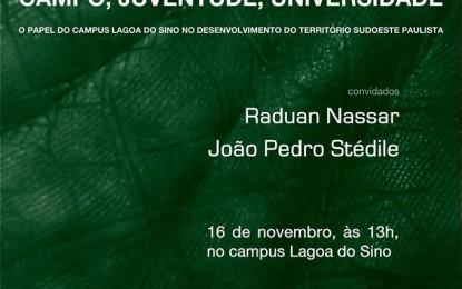 Mais um encontro do Fórum de Debates da UFSCar no campus Lagoa do Sino na quarta 16/11