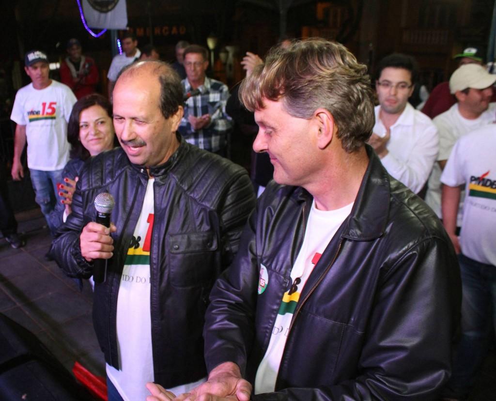 Luiz Antonio Machado e Márcio Abdelnur
