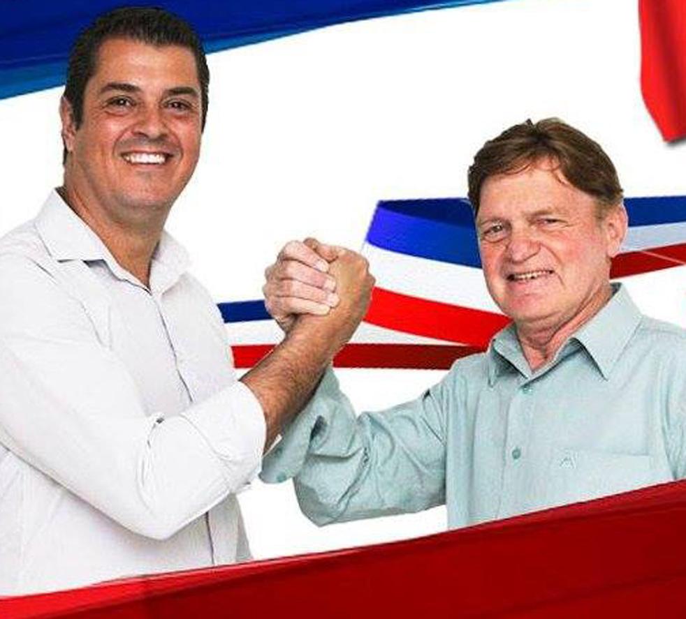 Gil Vicente de Oliveira Junior e Jacy Aleixo Machado