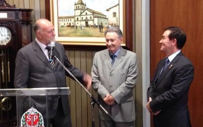 Região ganha outro deputado estadual : Ulysses Tassinari , de Itapeva, toma posse