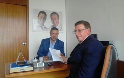 Vereador Pedro Saci pede apoio a deputado para a construção de centro de zoonose em Angatuba