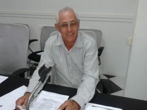 Presidente da Câmara, João Damasceno dos Santos