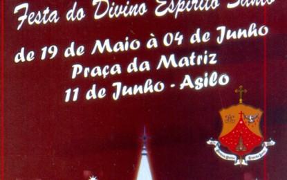 Começa nesta sexta a 143ª Festa do Divino Espírito Santo de Angatuba