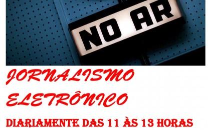 """Jornalismo Eletrônico"", programa de jornalismo, estréia nesta segunda-feira (15), na rádio Styllus de Angatuba"