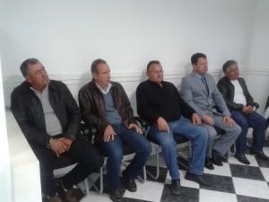 Eloir, Nelson Matias, Chicão, Palmeirense e Izaías.