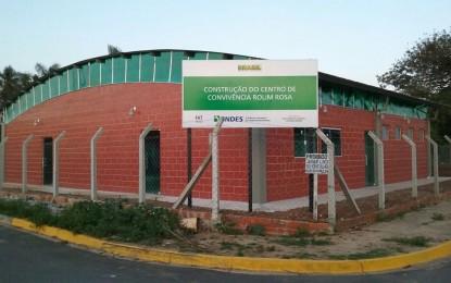 Inauguração do Centro de Convivência Rolim Rosa nesta terça (1/8)