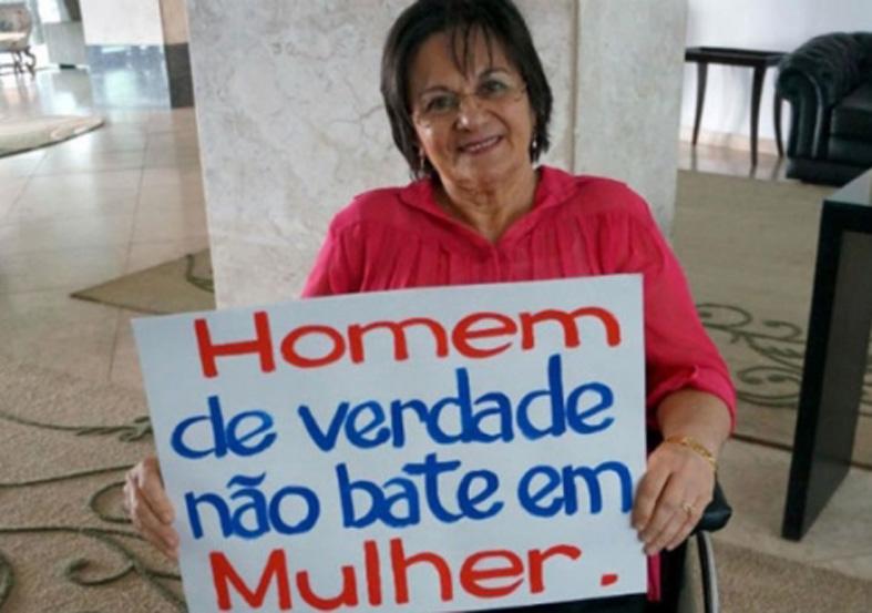 A luta da farmacêutica Maria da Penha inspirou a denominação da lei que combate a violência contra mulheres