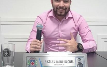 Vereador Nícolas Basile Rochel completa 25 anos e sugere que a população o acompanhe no Legislativo