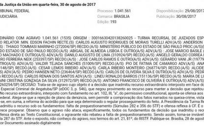 Caso dos 33: ex-prefeito Calá é derrotado no STF