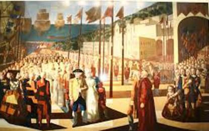 D.João chega em triunfo ao Rio