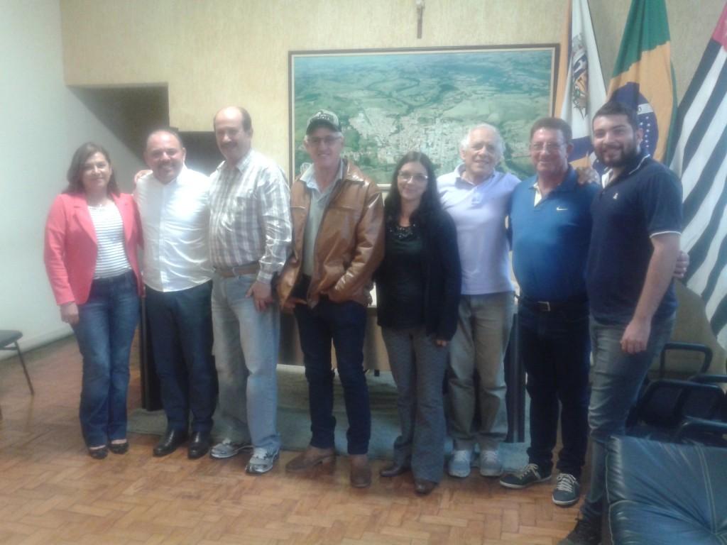 Magali, deputado Flavinho, prefeito, Maceinho,   professor César, Pedro Saci Saci e Nícolas.