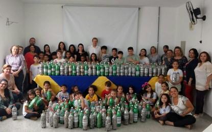 Alunos da Rede Municipal de Ensino de Itararé arrecadam lacres de lata para troca por cadeira de rodas