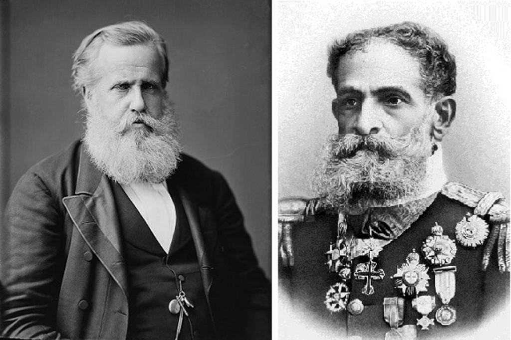 D.Pedro II e Marechal manuel Deodoro da Fonseca