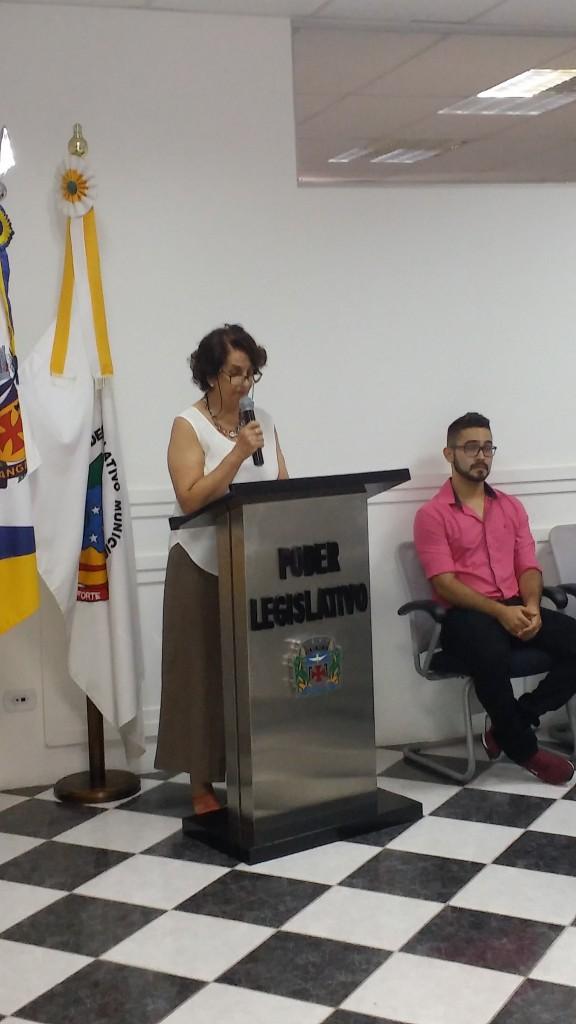professora doutora Maria Aparecida de Morais Lisboa.