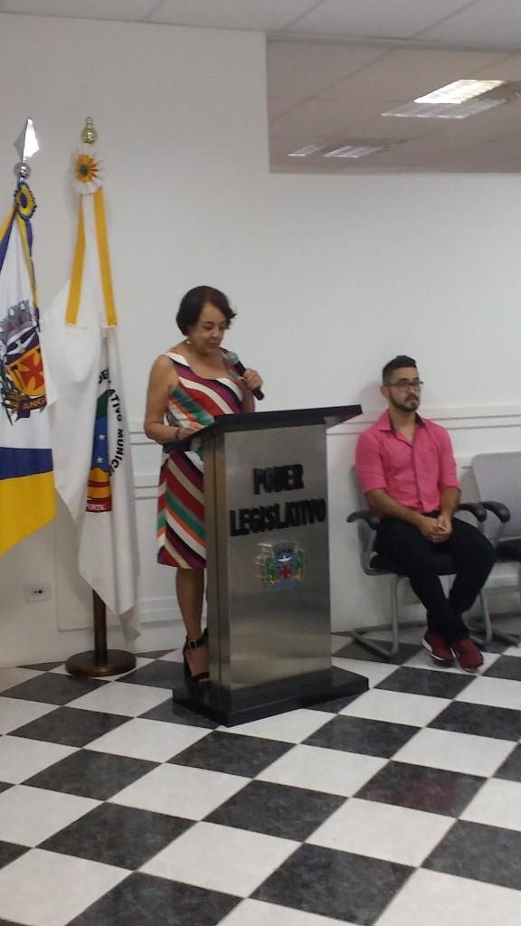 Professora Lúcia  Lemos Ribeiro Penatti.