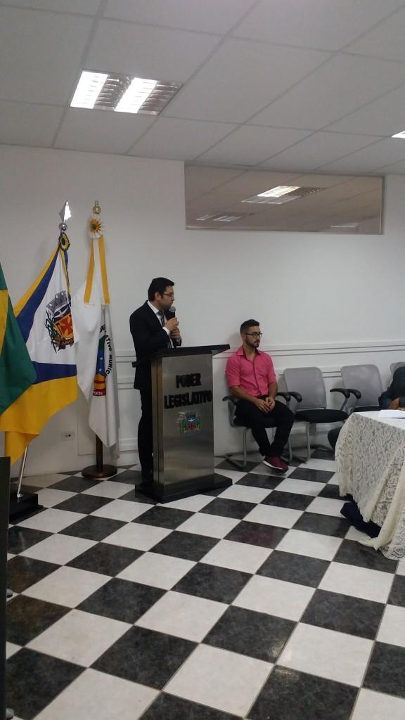 Vereador Bruno Américo Santi