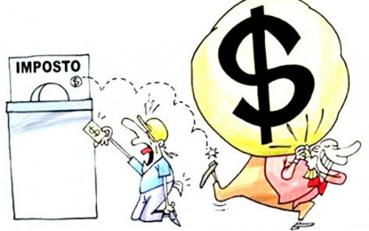 Ricos pagam muito menos impostos
