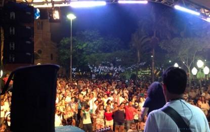 Atividades festivas do final do ano em Angatuba atenderam às expectativas da população