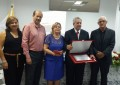 Cerimônia de entrega de título de cidadania a Raoul Henri enaltece a importância de suas pesquisas para Angatuba