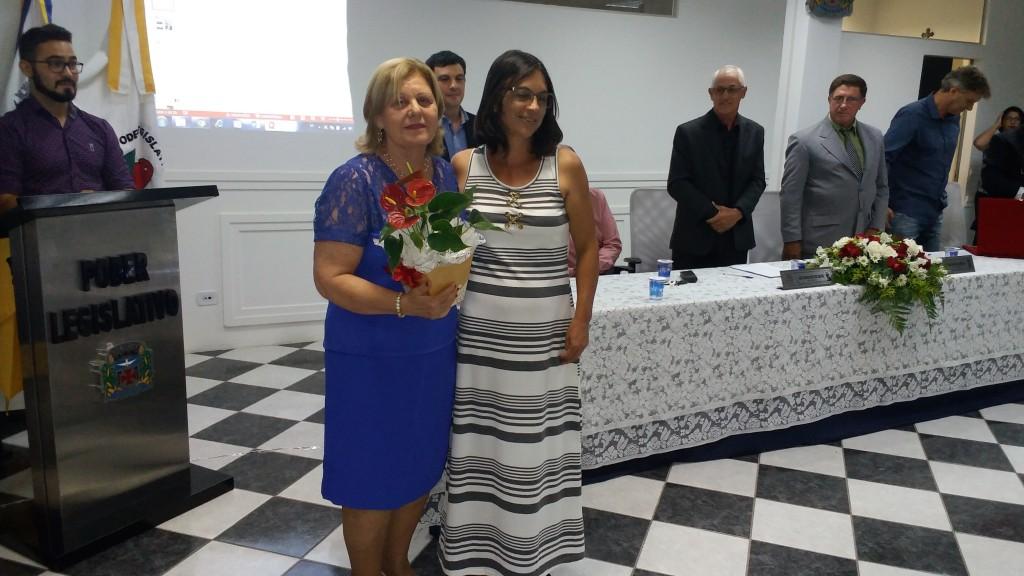Maria Aparecida Coelho Henri e Nilda