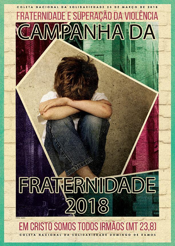 Cartaz oficial da Campanha da Fraternidade-2018