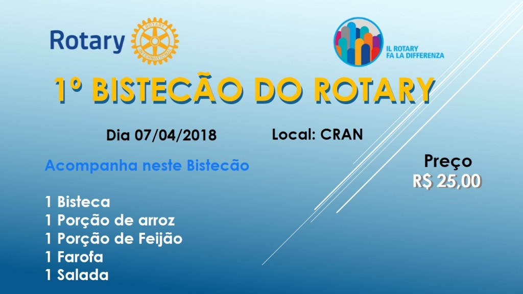 BISTECAO DO ROTARY
