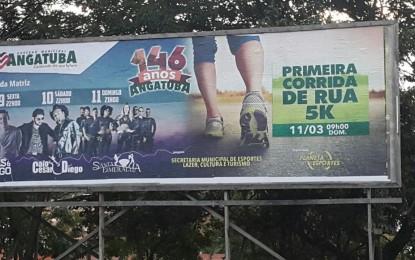 Programação de aniversário compatível com as reais possibilidades do município
