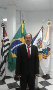 Vereador Zezinho do Machadinho em sua primeira sessão ordinária