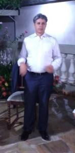 Deputado federal Paulo Teixeira em Angatuiba em abril.