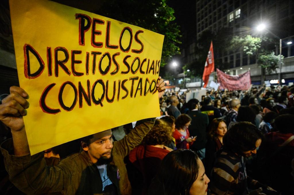 Protestos contra o governo Temer