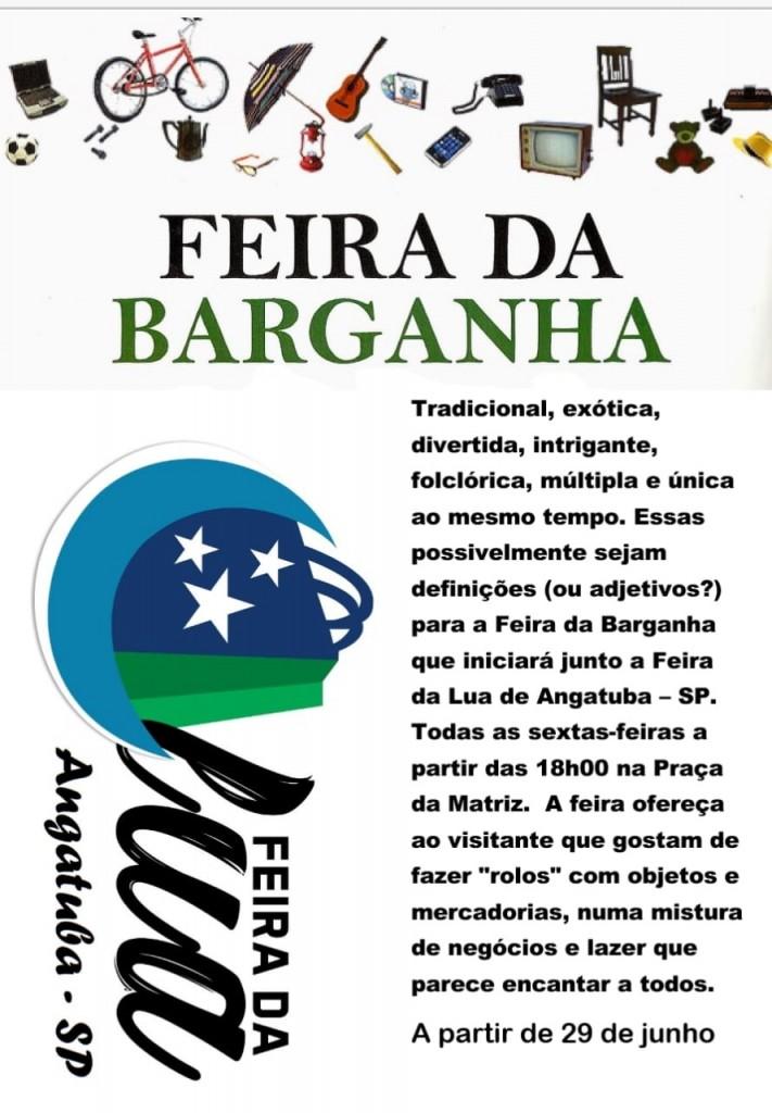 FEIRA DA BARGANHA ARTE