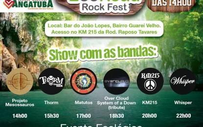 Muito rock no 5° Eco Road Rock Fest neste sábado no Guarei Velho