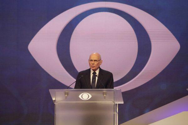 Ricardo Boechat, o mediador do debate.