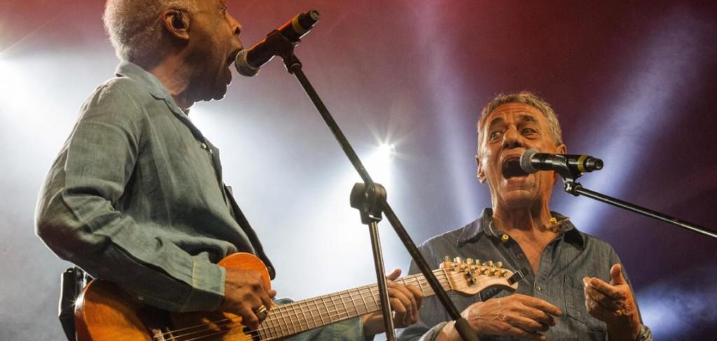 Gil e Chico. foto:Lina Marinelli/ Jornalistas Livres