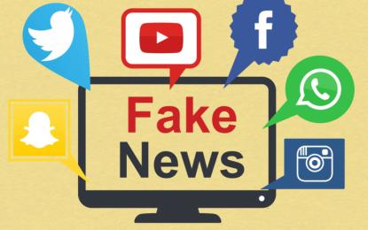 Notícias falsas disseminam como metástase