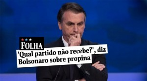 BOLSONARO PROPINA