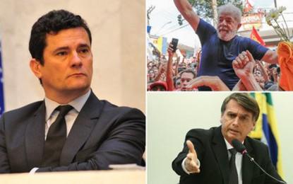Moro prendeu Lula para eleger Bolsonaro