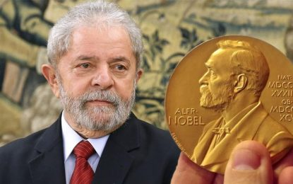Lava Jato ataca Lula temendo o Nobel da Paz