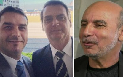 Queiroz elegeu os Bolsonaros