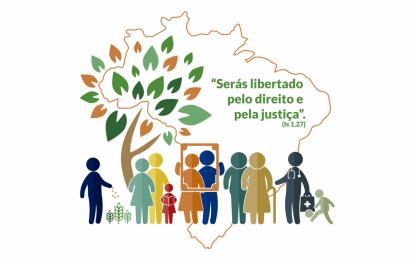 """CNBB lançou hoje a Campanha da Fraternidade 2019 com o tema """"Fraternidade e Políticas Públicas"""" e o lema """"Serás libertado pelo direito e pela justiça"""