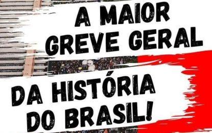 Nesta sexta-feira, dia 14 de junho, o Brasil vai parar