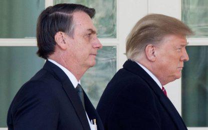 Bolsonaro entrega Brasil à geopolítica de Trump