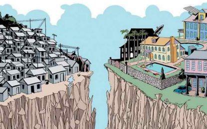 Mais dos ricos, menos dos pobres